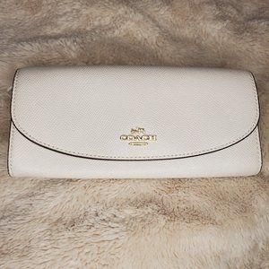 White Coach Wallet